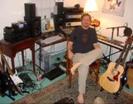 Chris at his studio
